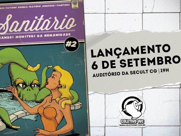 Lançamento da revista Sanitário em Campina Grande