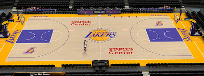 NBA 2K14 Lakers Staples Center (Yellow/Indigo)