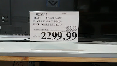 Take advantage of the Super Bowl deals from Costco for a big screen tv