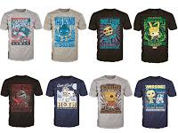Camisetas Funko Pop!