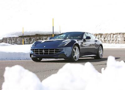 2012 Ferrari FF Blue