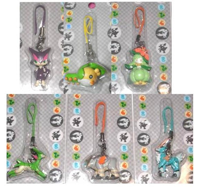 Pokemon Figure Strap #8 PokeCenJP