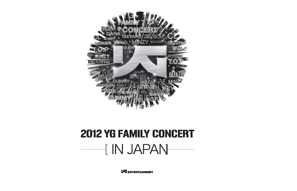 [MP3] YG Family   YG Family Concert in Japan 2012 (Ripped TBS Ver.)