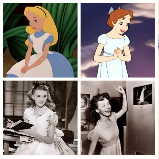 Kathryn Beaumont Wendy Alice in Wonderland filmprincesses.blogspot.com
