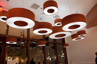 quarter cut padauk veneer lights