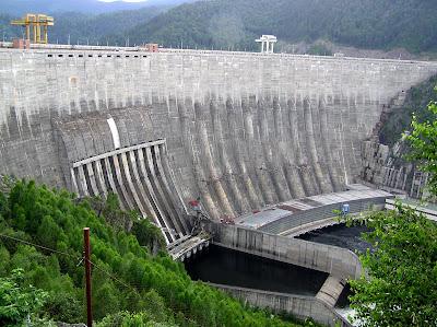 Usina hidrelétrica Sayano-Shushenskaya - Rússia
