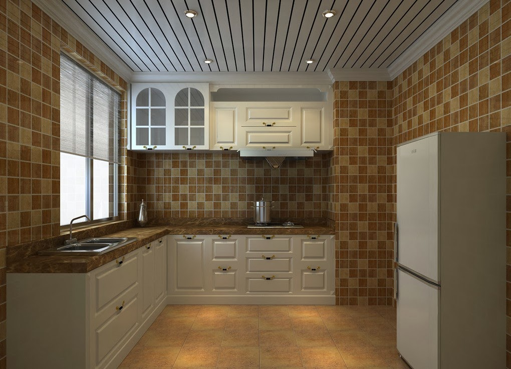 Ceiling design ideas for small kitchen 15 designs for Ceiling ideas kitchen
