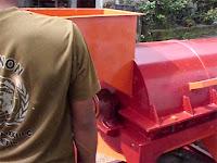 mesin pengurai sabut kelapa