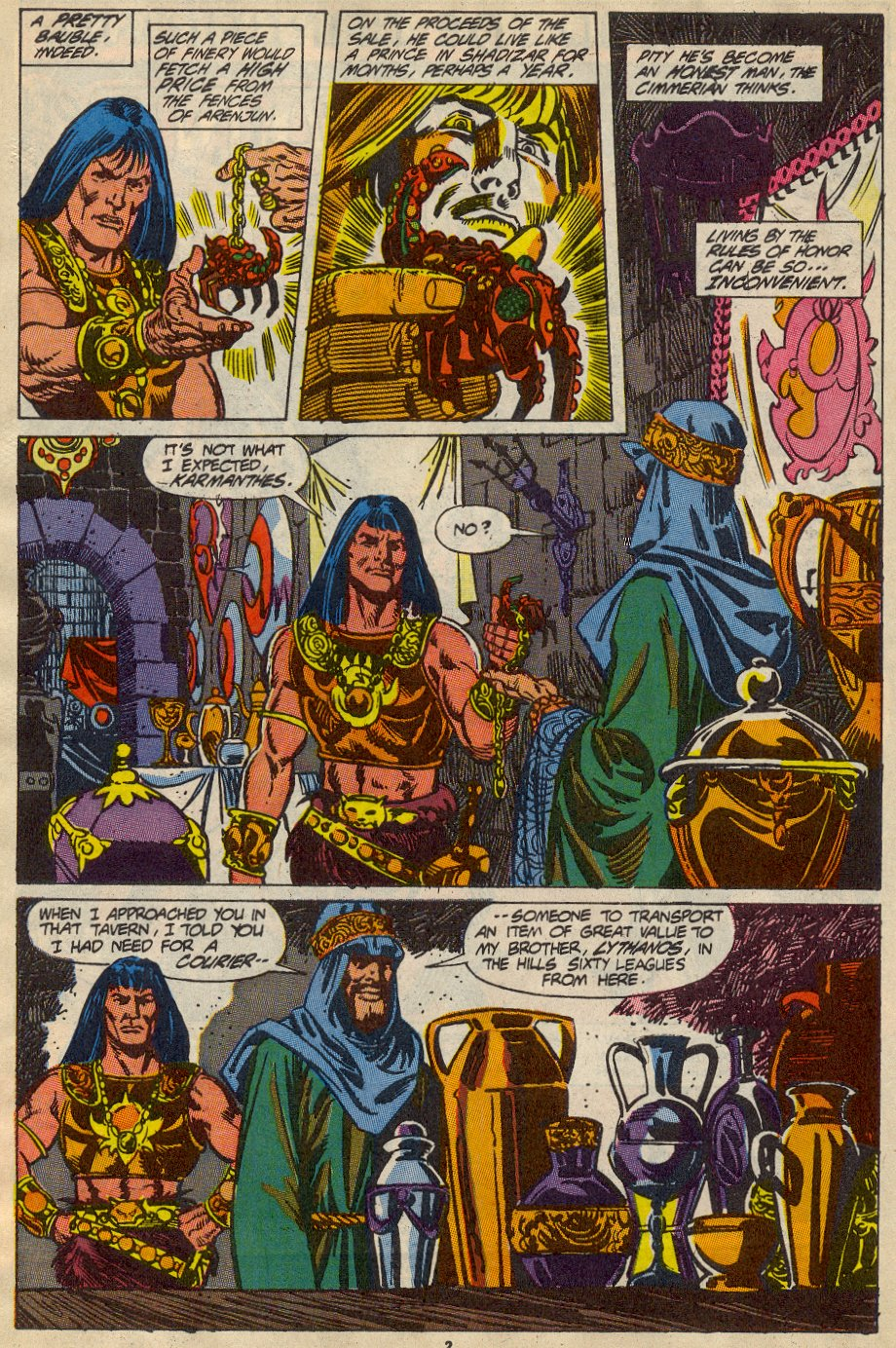 Conan the Barbarian (1970) Issue #230 #242 - English 3