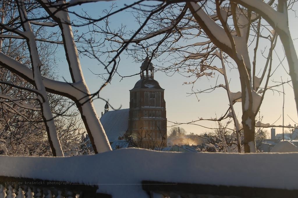 W Barczewie zima, a w Olsztynie Warmiński Jarmark Świąteczny