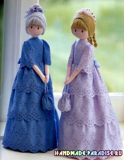 Как сшить куклу даму