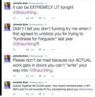 Shaun King fight