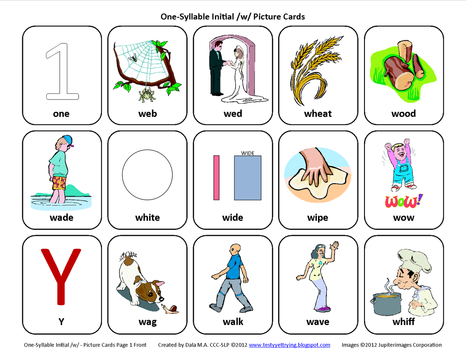 Testy yet trying: Initial W: Free Speech Therapy ...
