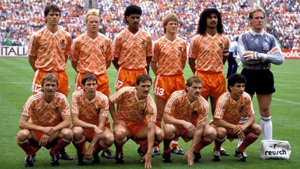 Oranje op het EK in 88