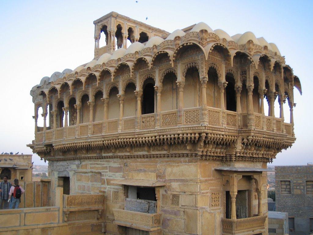 Nathmalji Ki Haveli Jaisalmer - Download Haveli Style Small House Architecture Design Of Haveli PNG