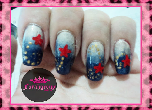 nail art, ocean inspiration, desafios de nail art, decoracion de uñas