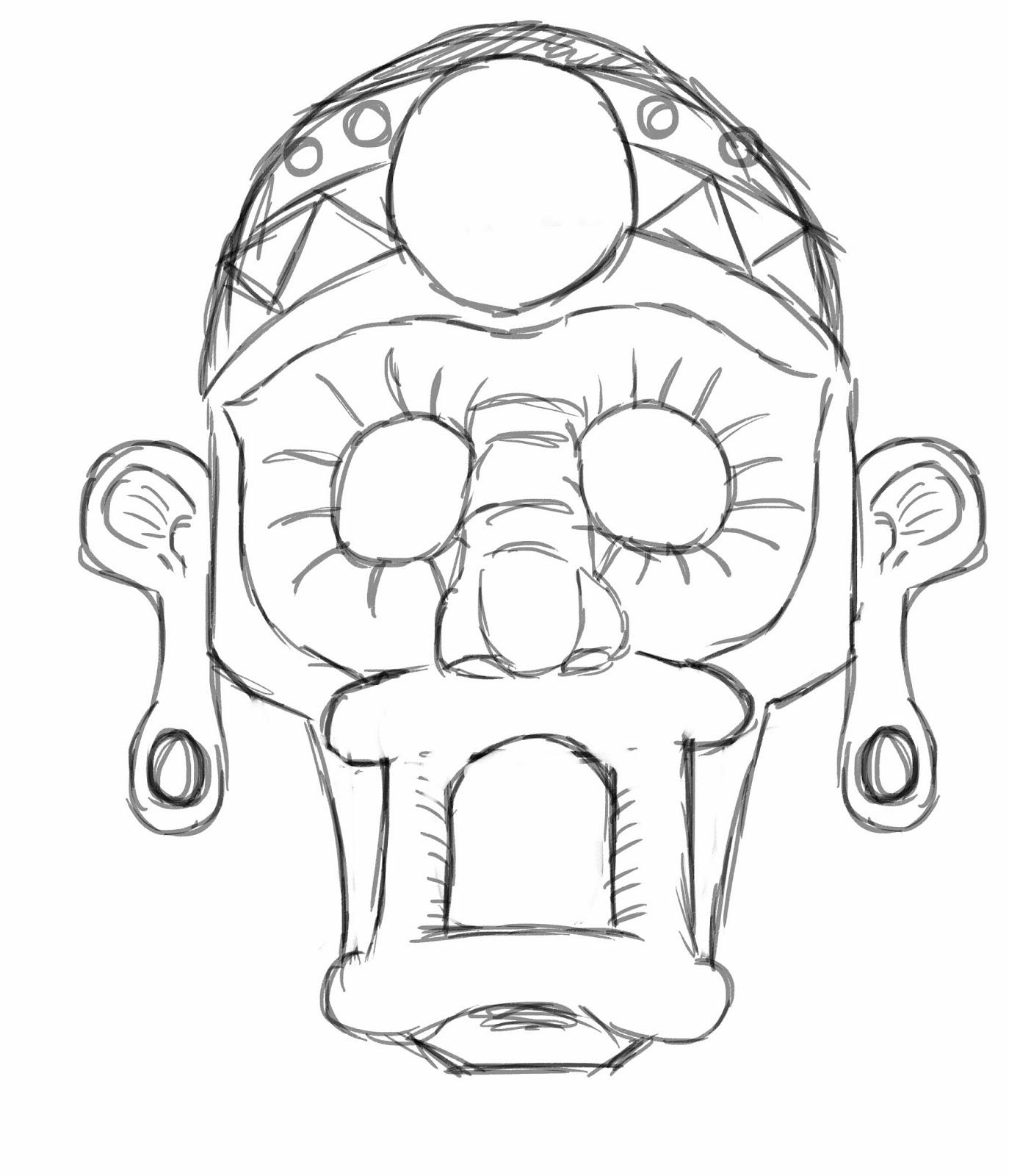 masks outline