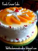 Peach Cream Cake