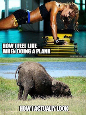 How I feel when planking