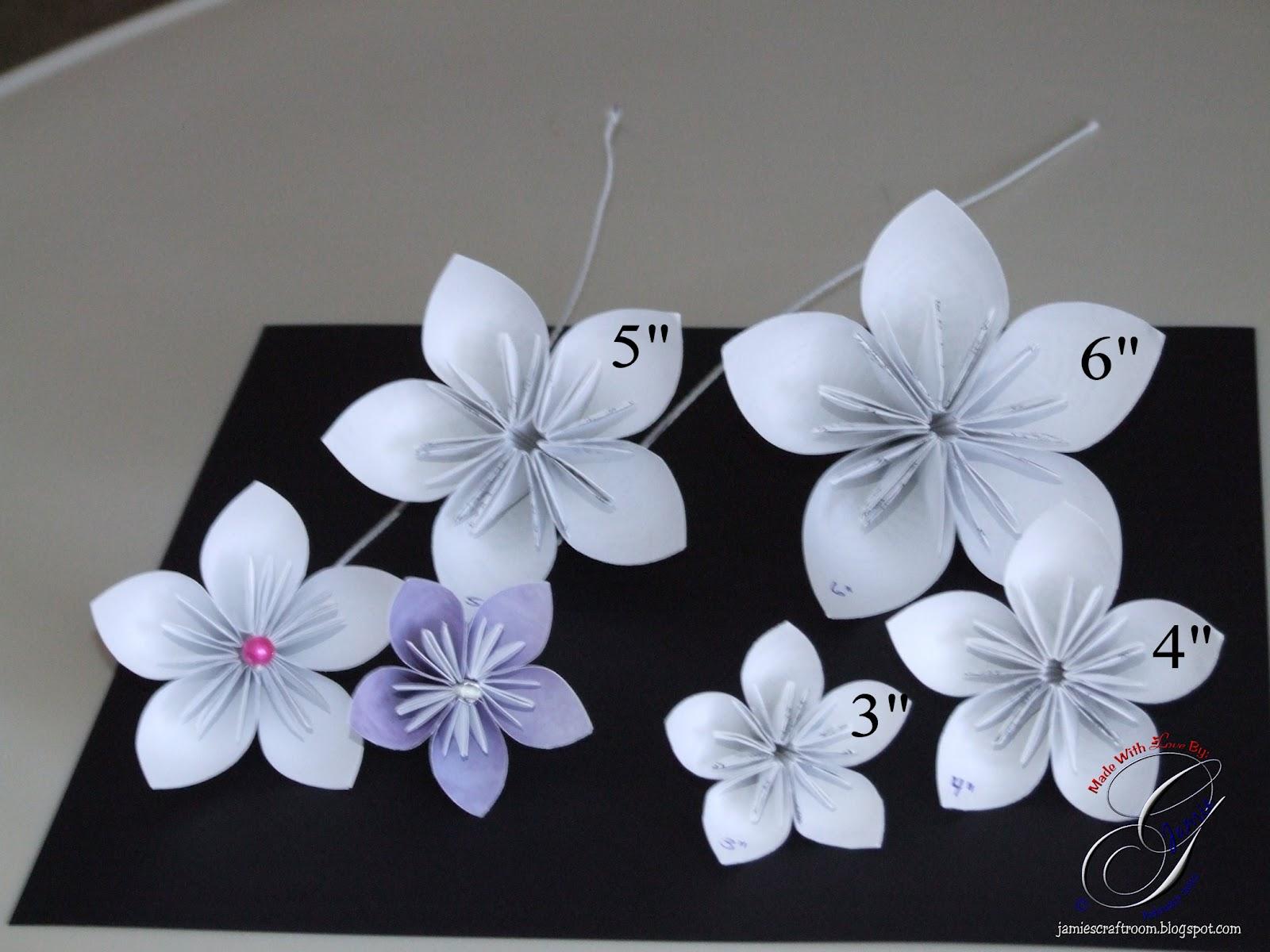 Jamie\'s Craft Room: Kusudama Flowers
