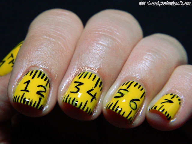 Measuring Tape Nails