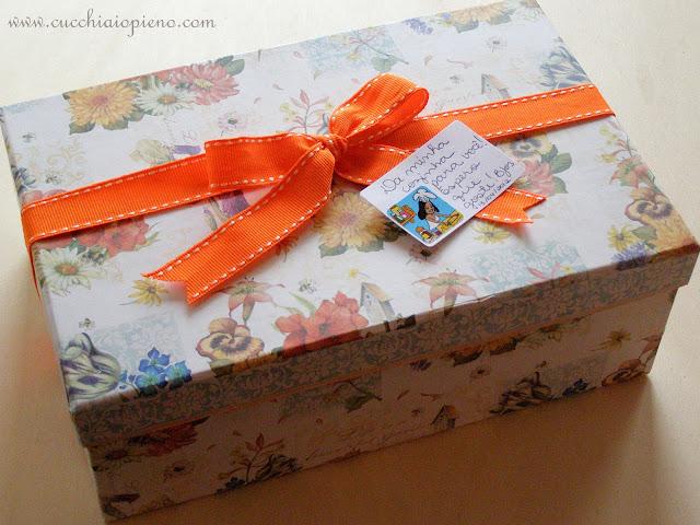 caixa de presente para amiga