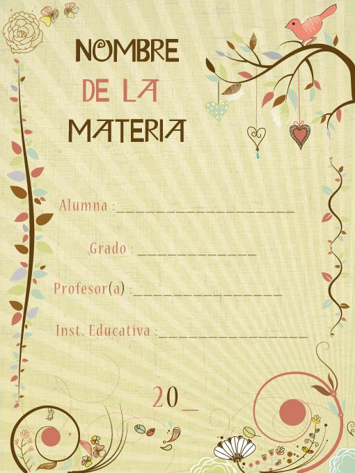 Imagenes caratulas para trabajos - Imagui