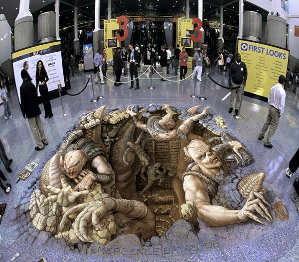 19-Gears-of-War-Kurt-Wenner-3D-Street-Pavement-Art-Painting-www-designstack-co