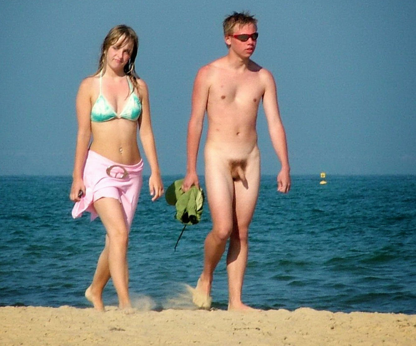 Have faced Teen naked couple on beach opinion you
