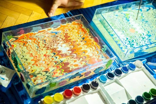 исскуство рисования на воде Эбру отзывы киев