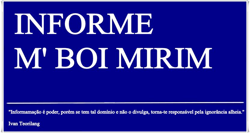Informe M' Boi Mirim