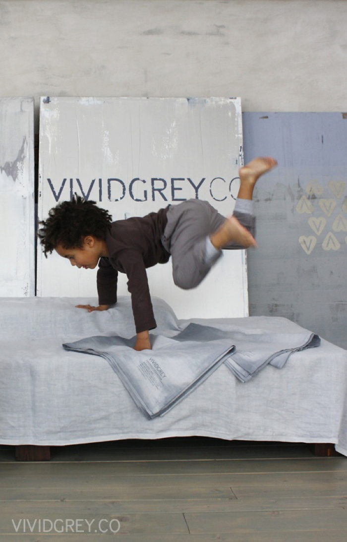 vividgrey linnen collection for kids