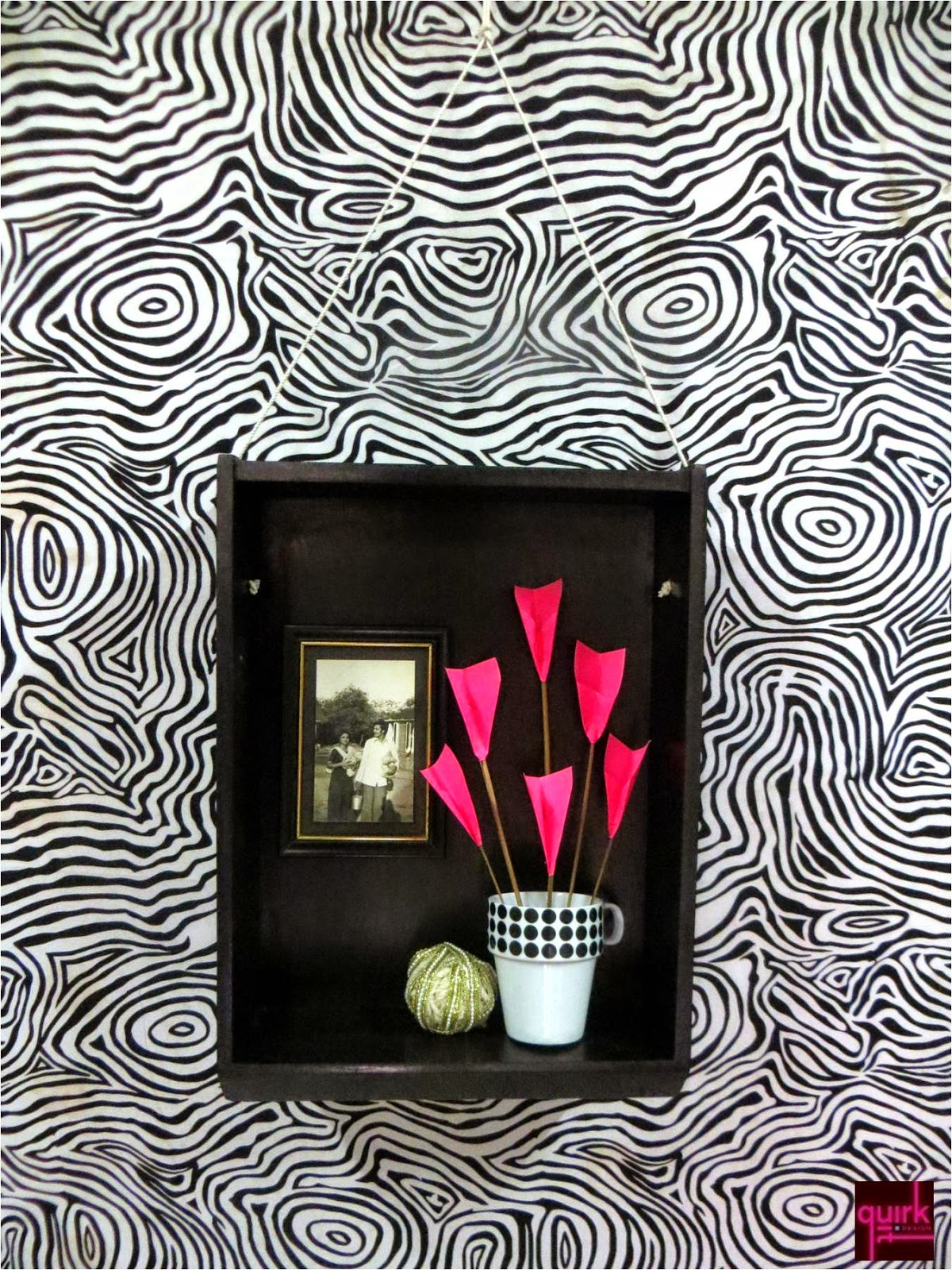 Quirk It Design__black_drawer_wall_hanging_niche_DIY_Quirky_Home_Decor_1