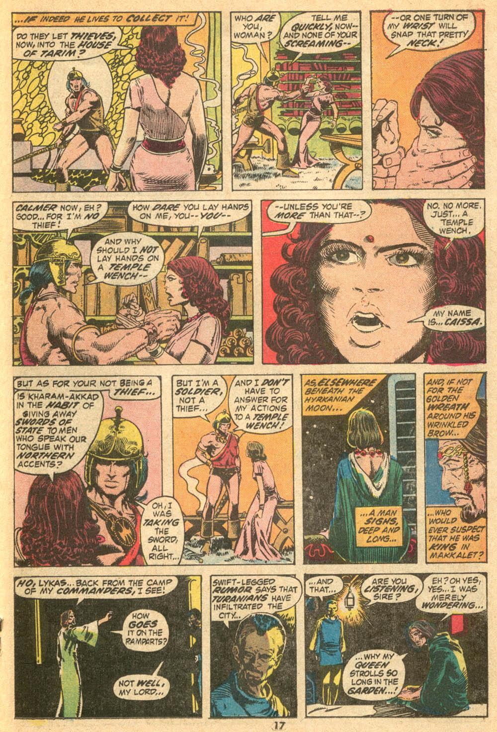 Conan the Barbarian (1970) Issue #20 #32 - English 11