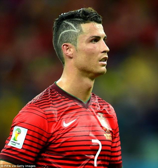 Cristiano Ronaldo Hairstyle