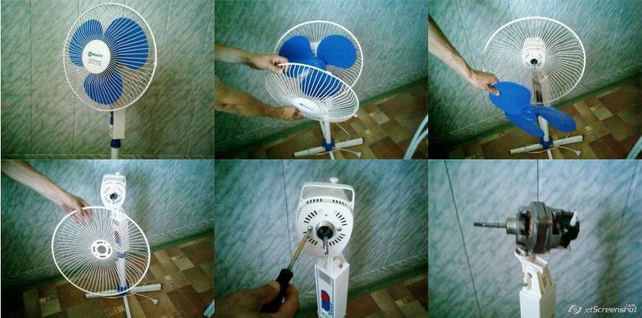 Ремонт вентилятора напольного своими руками 119
