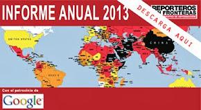 Cuba ocupa el lugar 171 de 179 paises con menor libertad de prensa en el mundo