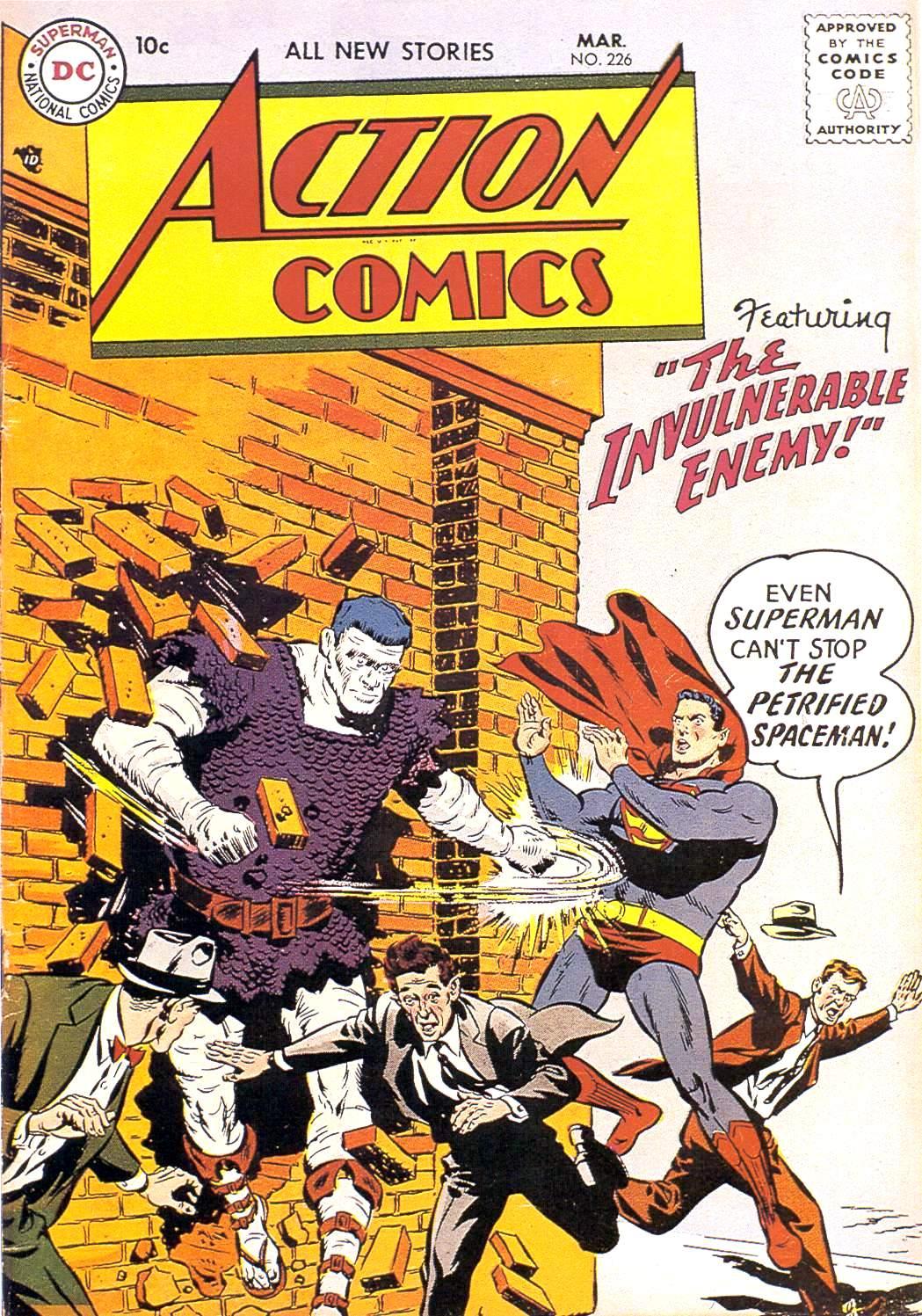Action Comics (1938) 226 Page 1