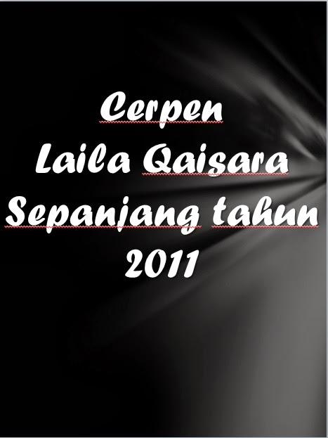 Senarai Cerpen Pada Tahun 2011, 2012, 2013