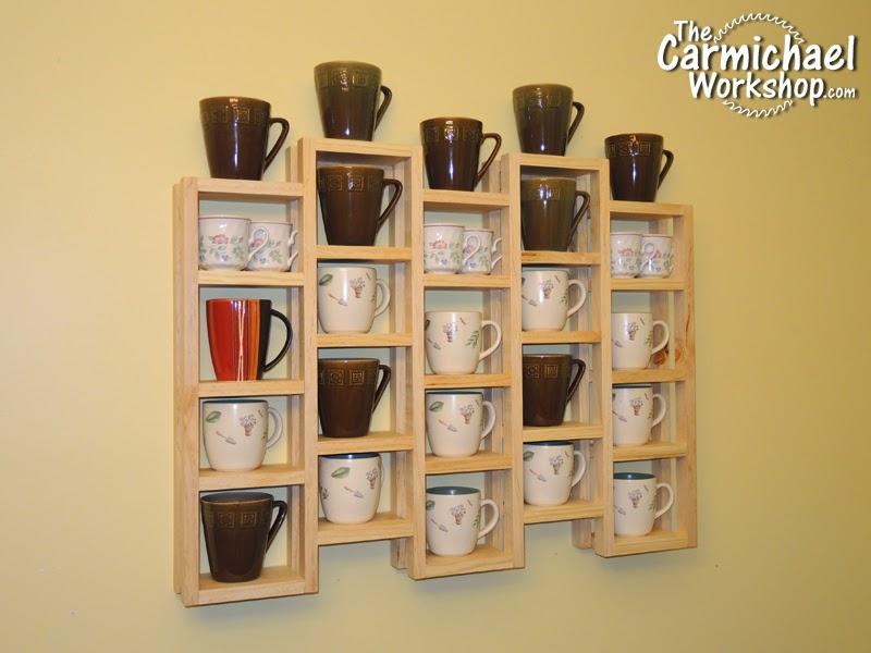 the carmichael workshop make a coffee mug rack