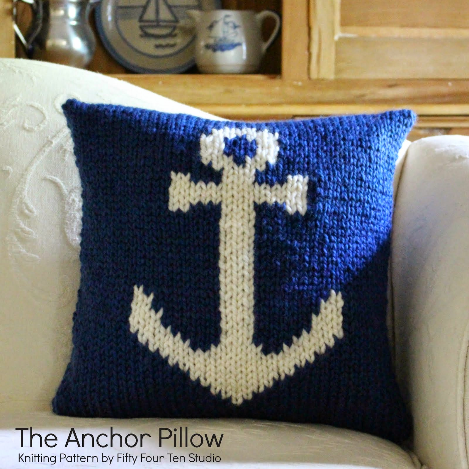 The Anchor Pillow