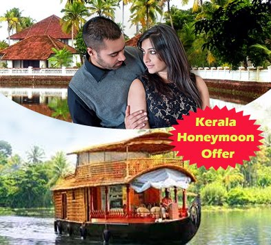 Romantic Kerala Honeymoon Trip