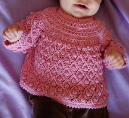 Baby Bubbles Smock - Free Pattern