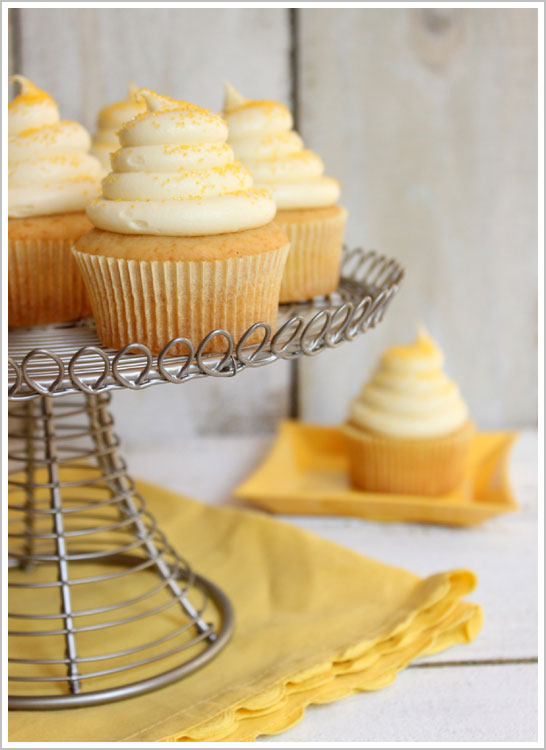 ... easter brunch serving honey cupcakes with honey cream cheese frosting