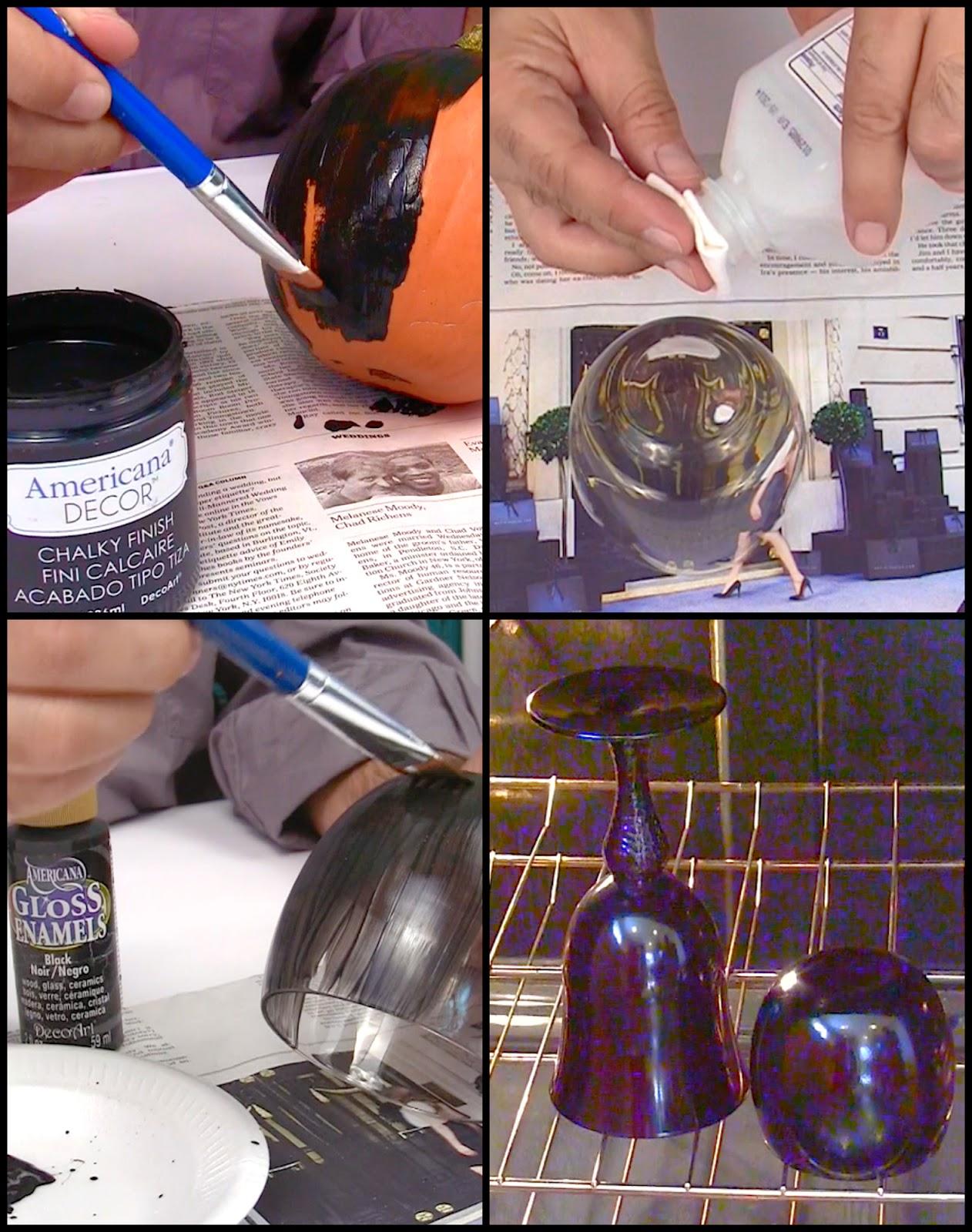 Bake Glass Paint Twice