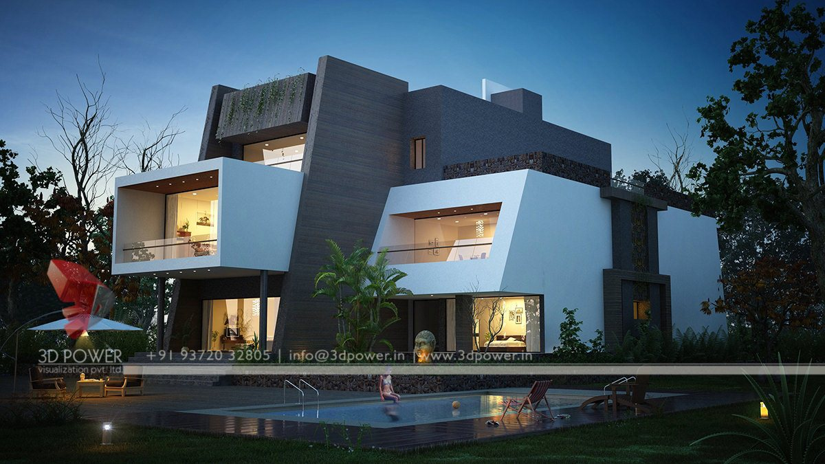 Ultra modern home designs contemporary bungalow exterior for Ultra modern design