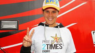 ENDURO-Laia Sanz suma su segundo campeonato mundial