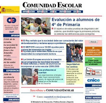 "NUESTRO BLOG EN LA REVISTA EDUCATIVA ""COMUNIDAD ESCOLAR"""