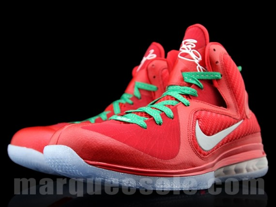 snkrology a soft spot nike lebron 9 �christmas day� colorway