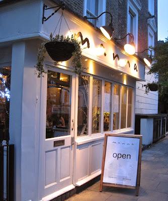 Manna Restaurant London
